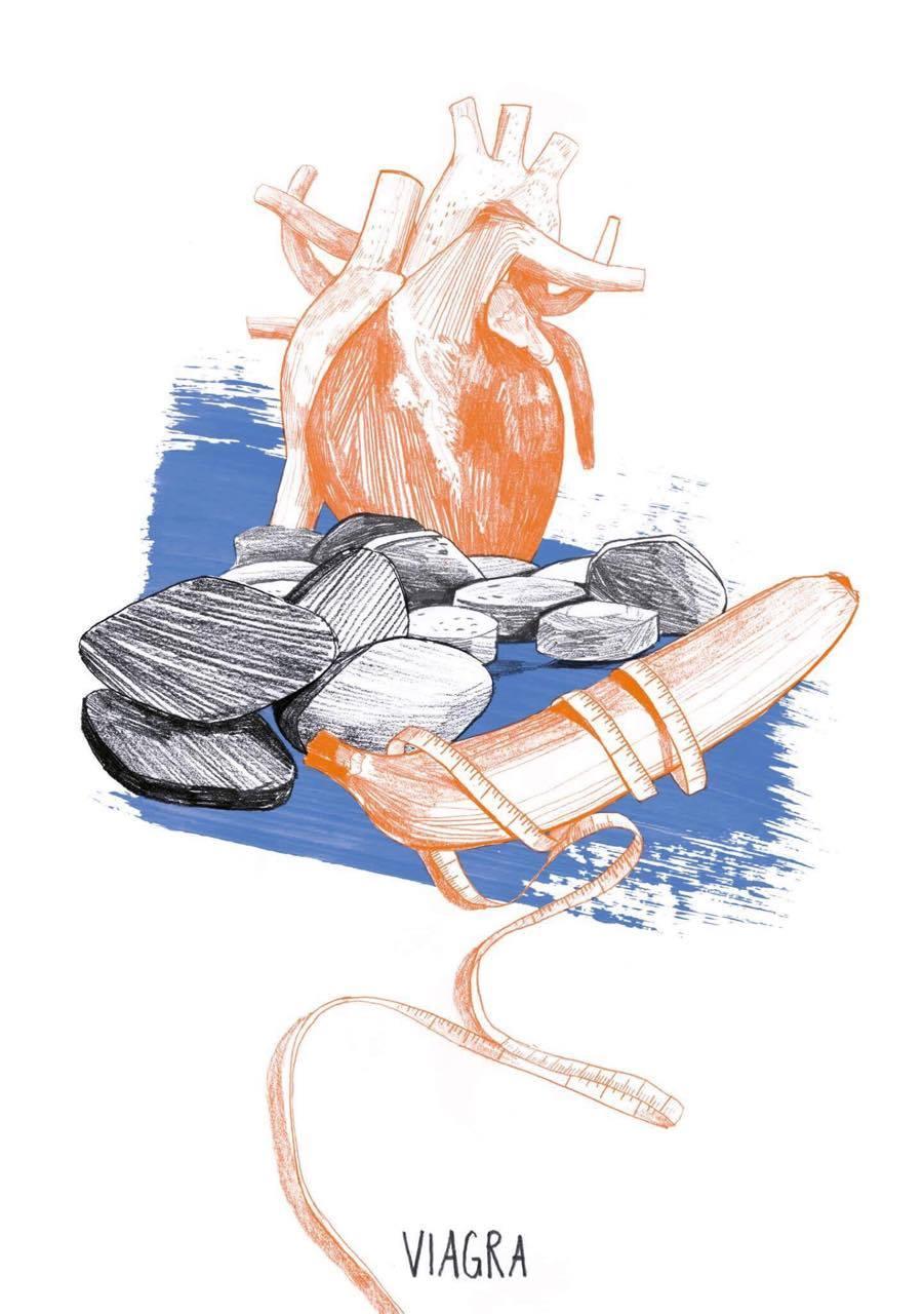 Buchillustration: Wo die Medizin irrte