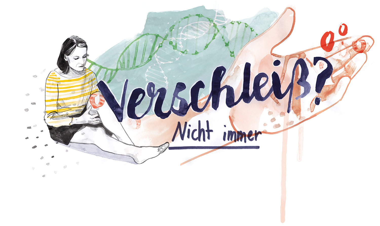 Illustrationen in der Brigitte Wir