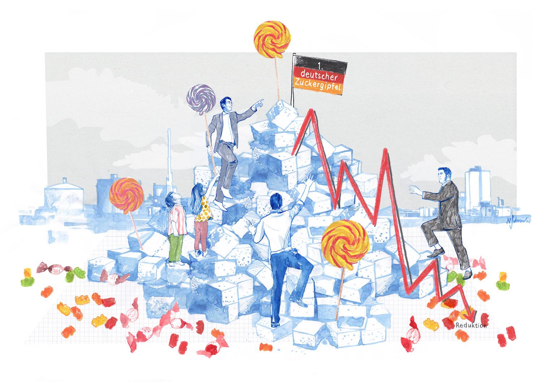 Illustrationen für die Apotheken Umschau