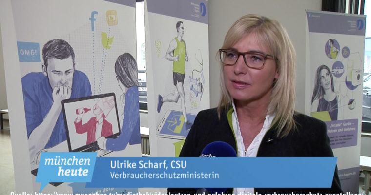 """Illustrationen zur Ausstellung """"Verbraucher in der digitalen Welt"""""""