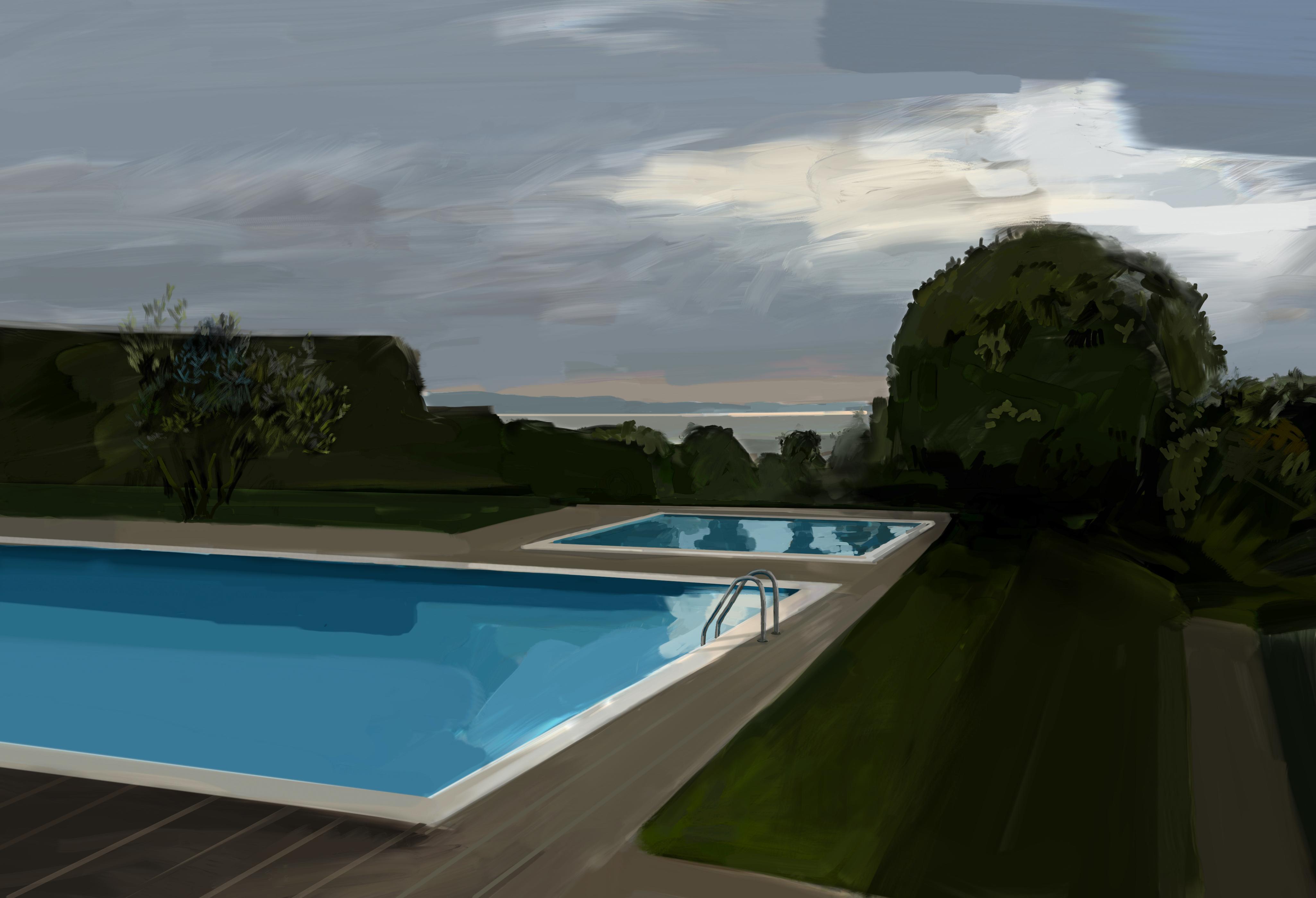 Landschaftsmalerei II