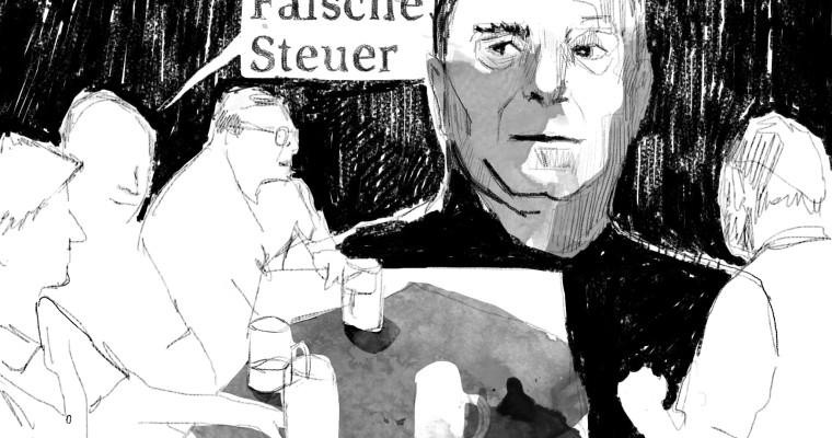 """Buchillustration """"Weil's wahr is"""""""